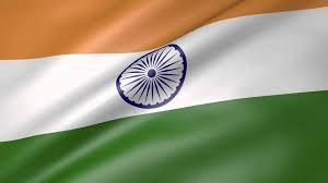 Flag Of Inida India Animated Flag Youtube