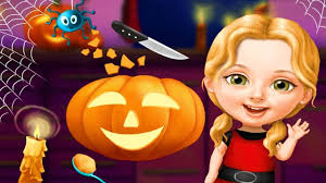 fun baby care kids games halloween makeover u0026 spooky hair