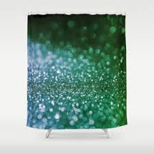 metalic shower curtains society6