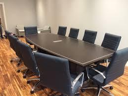 Custom Boardroom Tables Black Custom Boardroom Table By Vof Design Conference Tables