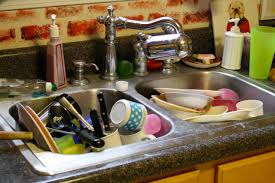 Kitchen Sink by Piled Up Dishes In Kitchen Sink Hodgepodge