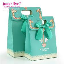 baby shower favor bags 10 pcs blue wedding favor gift bag baby shower favor gift