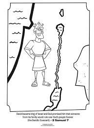 king david coloring pages david spares king saul coloring page