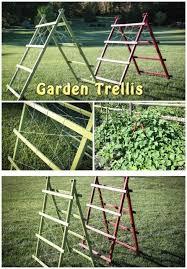 build a garden trellis diy garden trellis free plans and tutorial handy today s