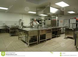 cuisine de chef cuisine professionnelle avec le cuisinier de chef image stock