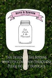 jar wedding programs custom jar shaped rustic wedding program by socialstationery