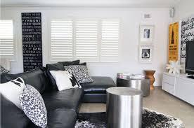 Black Leather Sofa Interior Design Best Living Room Ideas With Black Leather Sofa Ideas