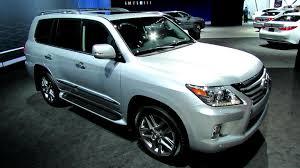 used car lexus lx 570 2013 lexus lx570 exterior and interior walkaround 2012 los
