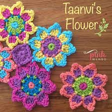 Crochet Designs Flowers 2944 Best Crochet Flowers And Leaves Images On Pinterest