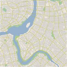 Map Of Downtown Portland Oregon by Interactive Procedural Street Modeling