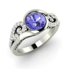 tanzanite engagement ring tanzanite rings for december birthstone rings diamondere