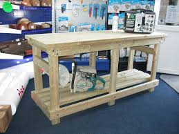 custom heavy duty work bench from wells timber products