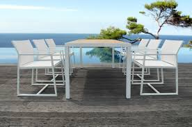 Outdoor Furniture Miami Design District by Mamagreen Alu Dinning Collection