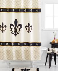 White Cotton Duck Shower Curtain French Style Shower Curtains Add Stylish Texture And Color To Your
