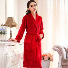 flannel dressing gown housecoat for women supplier factory