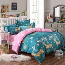 Giraffe Bedding Set Giraffe Bedding Set Deer Duvet Cover King Bedclothes Sheet