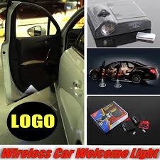 peugeot car logo for peugeot 208 307 306 308 301 car lacer welcome door lights