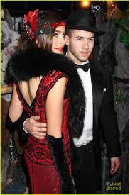halloween 1920s costumes nick jonas u0026 olivia culpo couple it up for halloween in vegas
