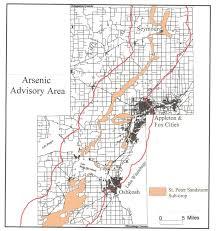 Lake Winnebago Map Arsenic Occurrence Wisconsin Dnr