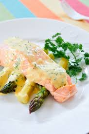 cuisine hollandaise tasty and easy poached salmon with chervil hollandaise fresh