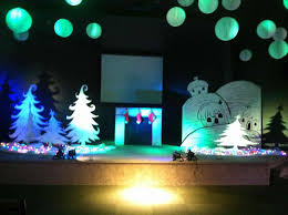 stage backdrops trees are simple yet very pretty designs set ideas