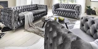 couch 3 sitzer chesterfield sofa 3 sitzer emma chesterfield garnitur