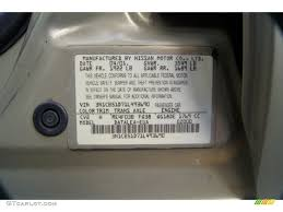 2001 nissan sentra xe color code photos gtcarlot com