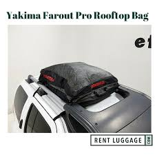 nissan pathfinder roof rails rent yakima farout pro car top carrier roof bag