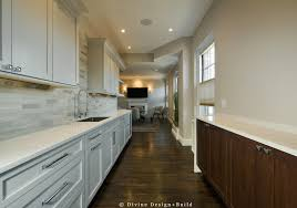 narrow kitchen home design ideas