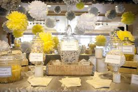 a fresh gray and yellow wedding a good affair event design a