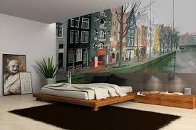 papier peint trompe l oeil chambre papier peint décoration amsterdam décorations papier