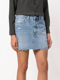 denim skirt levi s ripped denim skirt 128 buy online ss18 shipping