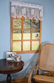 amazon com curtain chic seashells lace valance white home u0026 kitchen