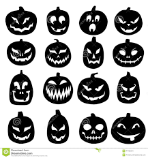 jackolantern screensavers jack o lantern carved pumpkin icons stock vector image 44136721
