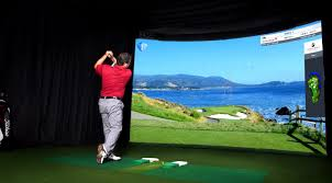 golf simulator home theater arden sales group high definition golf simulators