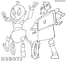 robot coloring pages coloring pages to download and print