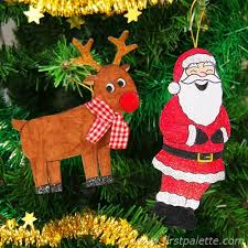 printable tree ornaments craft crafts