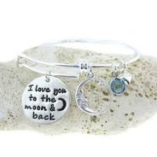 I Love You To The Moon And Back Personalized Necklace Jc Jewelry Design Peas In A Pod Hand Stamped Jewelry Handmade