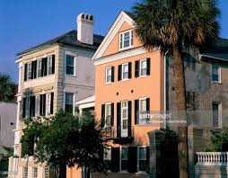 early 19th century town houses historic centre charleston south