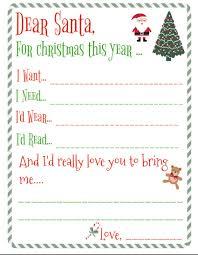 christmas wish list free santa wishlist printable portable pole christmas