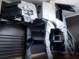 raised atat loft bed boys bedroom pinterest lofts desks and