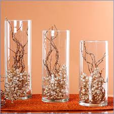 Long Vase Centerpieces by Ideas For Centrepieces With Tall Cylinder Vases Wedding Autumn