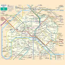 Metro Transit Map by Paris Metro Transit Map Digital Art By Spencer Mckain