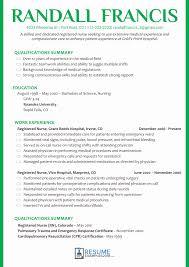 resume exles for registered sle registered resume best of nursing resume exles 2018