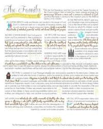 family proclamation the family proclamation free printable by lolly cranial