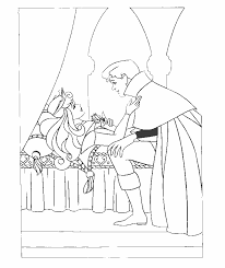sleeping beauty coloring pages coloring