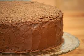 v e g a n d a d chocolate cake with mocha ganache and frosting
