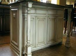 chalk paint cabinets distressed distressed painted kitchen cabinet