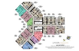 Centralized Floor Plan by Uptown Parksuites Tower 2 Best Fort Bonifacio Condos Sale