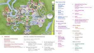 Disney World Magic Kingdom Map Comprehensive Character Location Maps For Walt Disney World